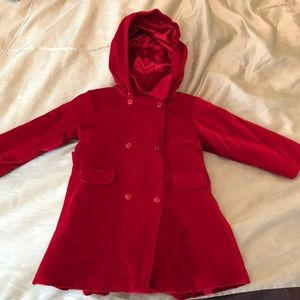Beautiful Girls Coat- with removable hood
